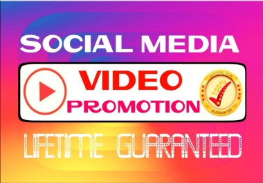 Add worldwide video promotion professionally