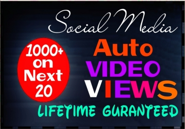 Provide 1000+ HQ and Non Drop Social auto Service Professionally