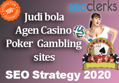 Boost! PBN Agen Judi bola Poker/Casino/Gambling Linkbuilding Strategy 2020 Pyramids