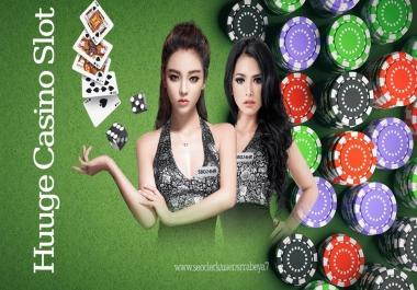 Online I Casino Slots x10 Poker/Casino/Gambling Website Search Ranking SEO Backlinks