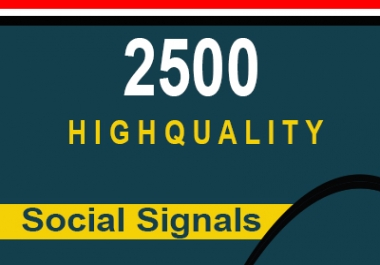 Do Google SEO With 1000 Manual High Authority Social signals