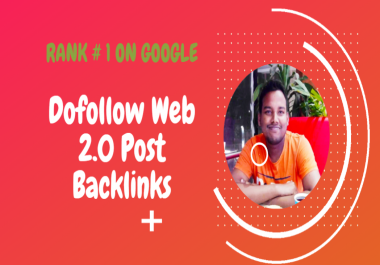 I Will create 100 super web 2.0 Blogs properties dofollow contextual backlinks With Login