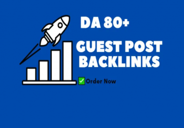 Write and Publish 15 High DA Guest post backlinks on DA 100 to 30 Websites