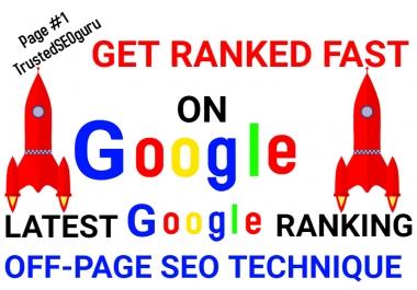 Latest Manually done Google Ranking - ALL in ONE SEO Skyscraper Technique