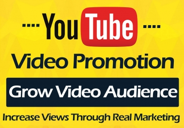 YouTube Video promotion and Marketing in 6 Hours