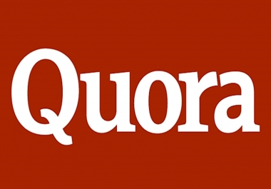 Provide 10 Quora answer & 50+ upvotes With website Keyword & URL
