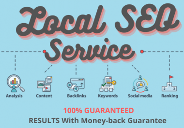 Rank Local Business in Google Maps 3-pack Or Money Back Guaranteed