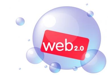 Provide you 12 high PR web 2.0 backlinks