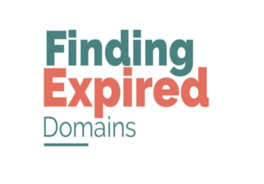 I will find High DA 25+ Expired domain