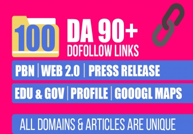 Get Google Top By Powerfully 100, PBN, Web 2, Press Release, Article Blog , Profile & Google Maps