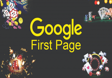 Google First Page, Agen judi, Poker, Gambling, Casino Website Dominate 1800 Manually Unique Domains