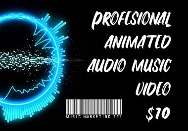 Professional Audio Spectrum Music Video