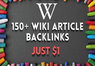 150+ Wiki Article Contextual Backlinks with fresh content 500+ words