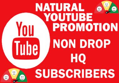 Natural Youtube Promotion --- SUB