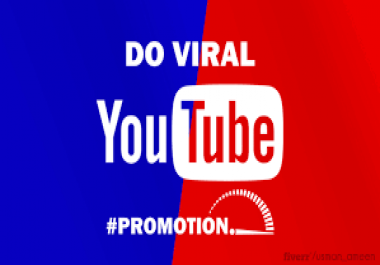 YouTube Video Views Promotion Via HQ Fast And Safe Guaranteed