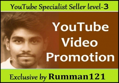 The Best Offer In YouTube Video Promotion