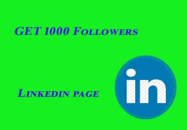 Linkedin Company Page up To 1000 People