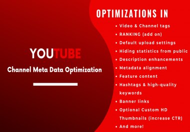 Channel Meta Data Optimization | Channel SEO for Grow Faster