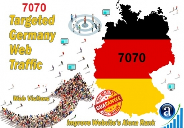 More Than 7070 Real Organic Traffic from Germany