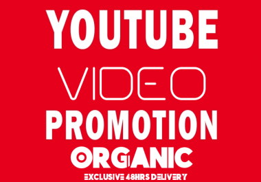 Real YouTube Video Marketing With Organic Method