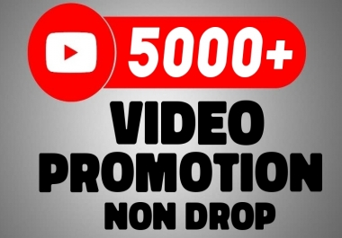 Real YouTube Video Marketing Promotion With Organic Method