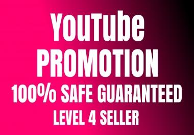 Real Organic YouTube Worldwide Users Promotion