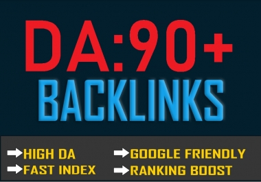 90+DA PR9 High TF CF Permanent 50 SEO Backlinks Create for Helps to BE On#1 Google Ranking