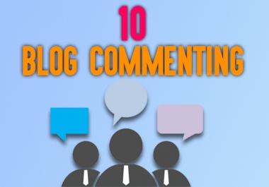 I will provide niche related dofollow blog comments high quality backlinks