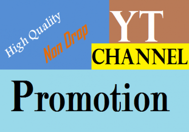 Provide Fast Video & channel Promotion Via world Wide Real Users