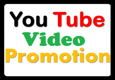 You Tube Promotion With Real Audience Within 48 hrs