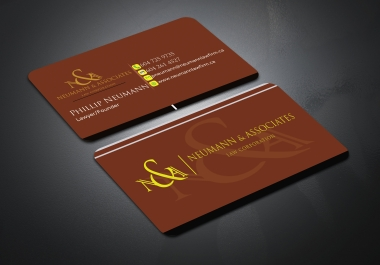 I will Design Professional Luxury Business Card With Three Concepts