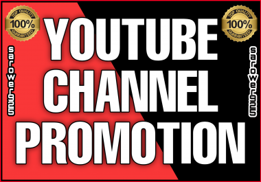 Permanent youtube marketing and promotion by real users