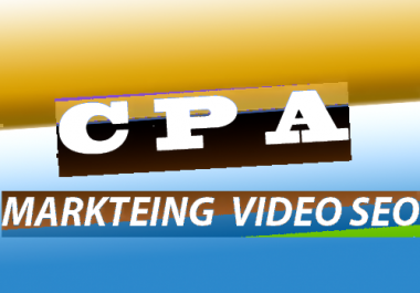 CPA Marketing Youtube Video Seo Best Package 250 Social Signals+ Backlink for
