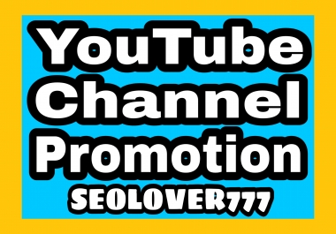 YouTube organic promotion with fast & non drop
