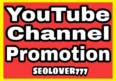 YouTube real & fast organic promotion