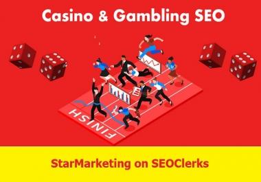 Build 100 Blog comments Backlinks for Casino Website