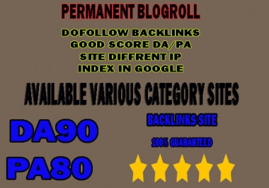 give link DA90x30 site blogroll permanent
