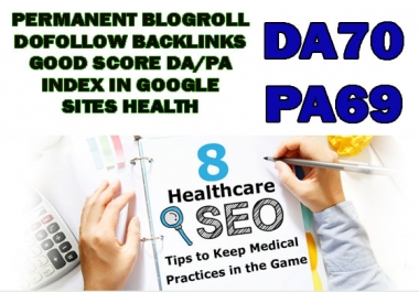 give link DA70x30 site Health blogroll permanent