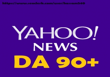 I Will Publish Guest Post On Yahoo. com Post