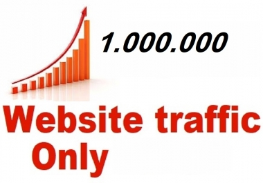 I give you 10 days traffic to 1.000,000 real visitors to your site