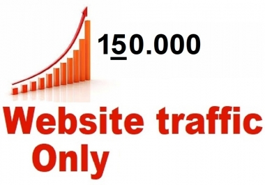 Real Web Traffic 150,000 Worldwide Traffic