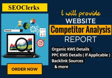 I will do a professional keyword research and competitors researc on your niche
