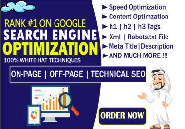 I will do on page and technical SEO optimization that will increase ranking