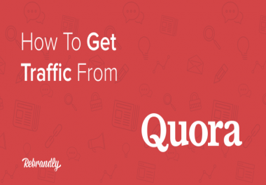 I will write for you Niche related 10 Quora Answer for targeted Traffic