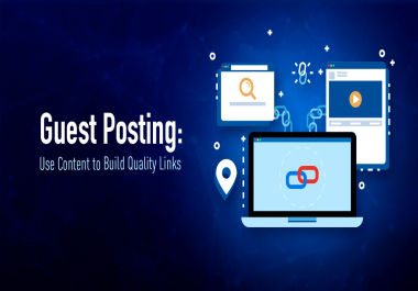 Provide you Guest post from DA60+ Skyrocket your Google Ranking Position