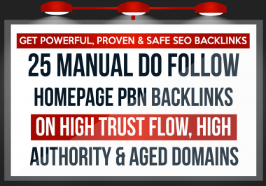2019 Update 25 manually do follow homepage PBN backlinks on aged domain