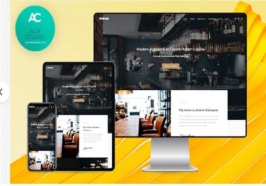 design a modern professional wordpress website design