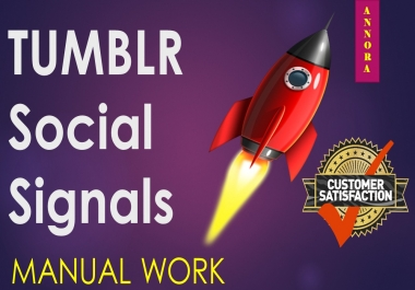 PowerFul 1000+ PR9 Tumblr Permanent Social Signals Share Help To Increase Website SEO
