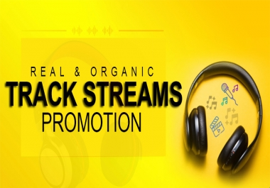 Do Organic Promotion For Your Streams On Music Track