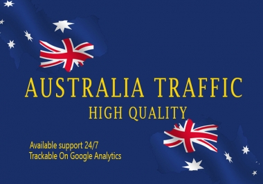 Send Keyword Target 1000+ Australia Website Traffic With Low Bounce Rate